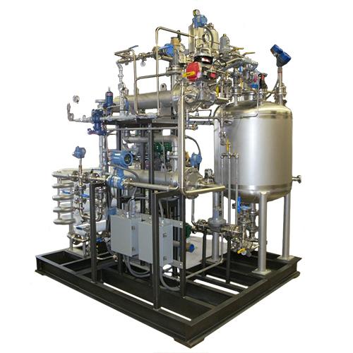 Sistema empequetados de inyeccion de vapor - Sistema Bio-Kill