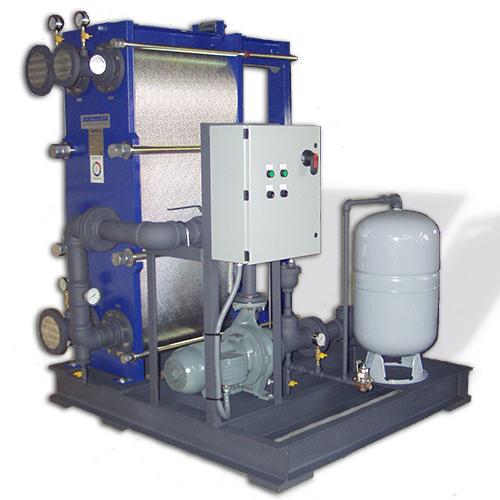 Sistema de enfriamiento de emulsión de circuito cerrado