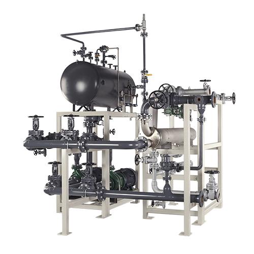 Sistema empaquetado de transferencia de calor personalizado