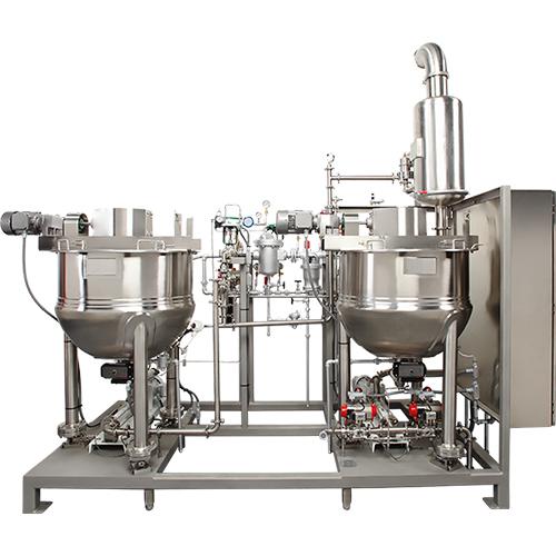 Sistemas empaquetados de inyección de vapor -  cocina con confitería de almidon
