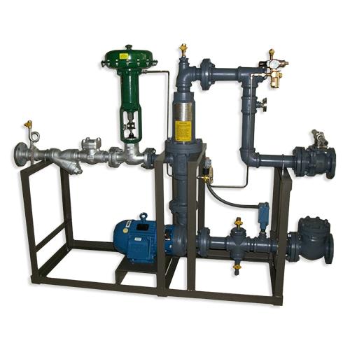 Sistema empaquetados de inyección de vapor - Planta de alimentos - Calentador de desinfección de maquinas de envasado
