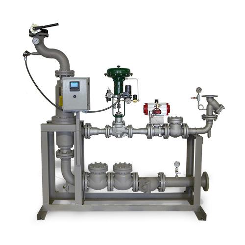 Sistemas empaquetados de inyección a vapor: sistema de lavado con depurador